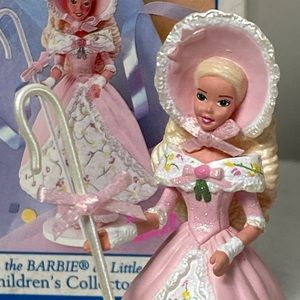 1998 Hallmark Barbie Little Bo Peep Ornament